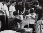 授業「キャンプの理論と実践」(平成10年)