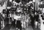 経済学部60周年提灯行列(昭和57年)